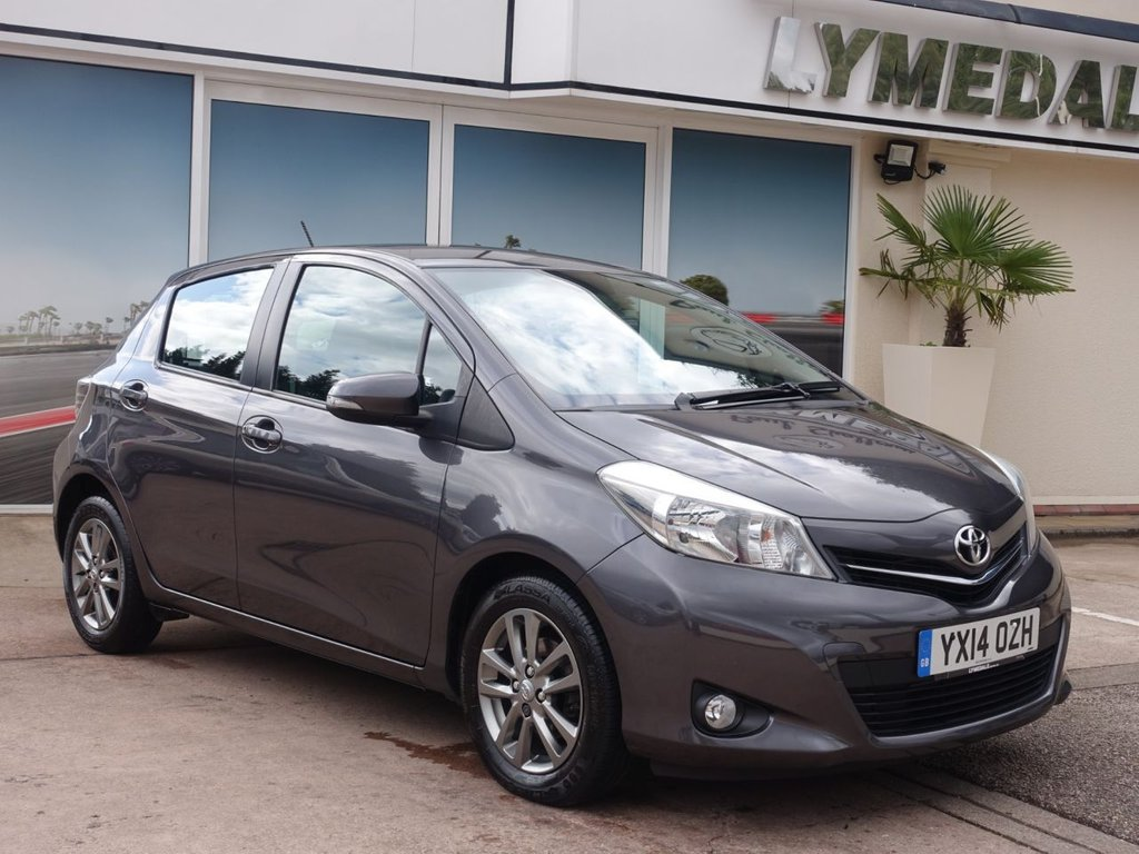 USED 2014 14 TOYOTA YARIS 1.0 VVT-I ICON PLUS 5d 69 BHP