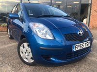 USED 2006 55 TOYOTA YARIS 1.3 T3 VVT-I 5d 86 BHP ONE OWNER FROM NEW GREAT LITTLE RUNAROUND! WITH 13 MAIN DEALER SERVICES! MOT TILL 28TH JAN 2020 BUT WILL COME WITH A NEW MOT!