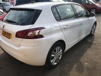 USED 2015 15 PEUGEOT 308 1.6 e-HDi Active (s/s) 5dr Zero road tax
