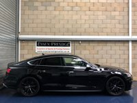 USED 2017 17 AUDI A5 3.0 TFSI V6 Sportback 5dr Petrol Tiptronic quattro (s/s) (354 ps) FULL SERVICE+WARRANTY+FINANCE