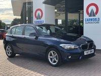 USED 2017 17 BMW 1 SERIES 1.5 116D SE 5d AUTO 114 BHP 1 OWNER | SAT NAV | BLUETOOTH
