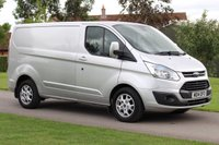 2014 FORD TRANSIT CUSTOM 2.2 270 LIMITED LR P/V 1d 124 BHP £SOLD