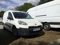 USED 2014 64 PEUGEOT PARTNER 1.6 HDI S L1 850 1d 89 BHP All Vehicles with minimum 6 months Warranty, Van Ninja Health Check and cannot be beaten on price!