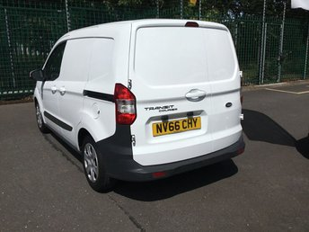 FORD TRANSIT COURIER at Van Ninja