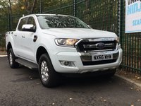 USED 2016 66 FORD RANGER 2.2 XLT 4X4 DCB TDCI 1d 148 BHP All Vehicles with minimum 6 months Warranty, Van Ninja Health Check and cannot be beaten on price!