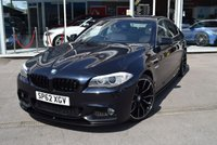 2012 BMW 5 SERIES 2.0 520D M SPORT 4d AUTO 181 BHP £12890.00