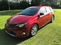 USED 2013 13 TOYOTA AURIS 1.4 ICON D-4D 5d 89 BHP **EXCELLENT FINANCE PACKAGES**1 OWNER FROM NEW**PARK ASSIST CAMERA**LOW MILES**