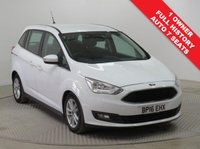 USED 2016 16 FORD GRAND C-MAX 1.5 ZETEC TDCI 5d AUTO 118 BHP Stunning Ford Grand C Max just had 1 Previous Owner, Full Ford Service History and has MOT to the 24th June 2020. In addition this great 7 Seater comes with a fantastic specification including Parking Sensors, Cruise Control, Ford Sync, Bluetooth, Air Conditioning, Leather Multi Functional Steering Wheel, Alloy Wheels and comes with a Free Warranty. Nationwide Delivery Available. Finance Available at 9.9% APR Representative.