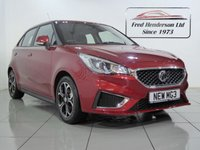USED 2019 19 MG 3 1.5 EXCLUSIVE VTI-TECH 5d 106 BHP BEAUTIFUL DELIVERY MILEAGE MG3 1.5 VTI-TECH EXCLUSIVE IN Ruby Red METALLIC SAVE THOUSANDS ON NEW PRICE , 1 owner, Open 7 Days A Week,Looking After Customers In The Durham Area And Nationwide Since The 1973  £10995
