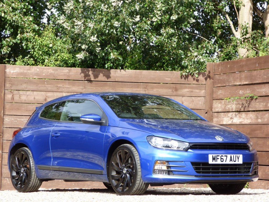 USED 2017 67 VOLKSWAGEN SCIROCCO 2.0 GT TSI BLUEMOTION TECHNOLOGY 2d 178 BHP