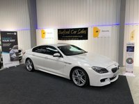 USED 2016 V BMW 6 SERIES 3.0 640D M SPORT GRAN COUPE 4d AUTO 309 BHP