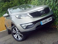 2010 KIA SPORTAGE 2.0 CRDI FIRST EDITION 5d 134 BHP £6999.00