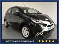 USED 2017 66 TOYOTA AYGO 1.0 VVT-I X-PLAY 5d 69 BHP FULL HISTORY - 1 OWNER - AIR CON - BLUETOOTH - CRUISE - AUX / USB - ISOFIX POINTS