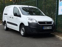 USED 2017 67 PEUGEOT PARTNER 1.6 BLUE HDI CRC 1d 100 BHP All Vehicles with minimum 6 months Warranty, Van Ninja Health Check and cannot be beaten on price!