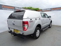 USED 2017 67 FORD RANGER 2.2 XLT 4X4 DCB TDCI 1d 148 BHP FORD RANGER 4X4 EURO6 ULEZ COMPLIANT