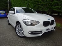2014 BMW 1 SERIES 2.0 116D SPORT 5d 114 BHP £10295.00