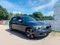 2012 BMW 1 SERIES 1.6 116I SPORT 5d AUTO 135 BHP £9450.00