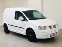 USED 2010 10 VOLKSWAGEN CADDY 2.0 C20 TDI SWB 1d 103 BHP LOW MILES + NO VAT + FULLY COLOUR CODED + GOLF GTI ALLOYS