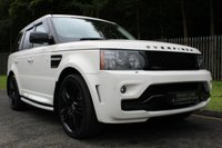 """USED 2009 59 LAND ROVER RANGE ROVER SPORT 3.0 TDV6 HSE 5d AUTO 245 BHP OVERFINCH STYLE BODYKIT WITH 22"""" WHEELS, FULL HISTORY INC TIMING BELT!!!"""