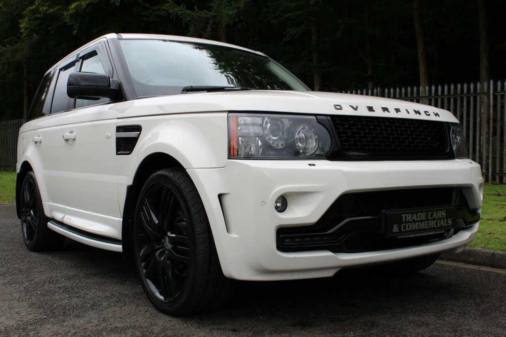 "USED 2009 59 LAND ROVER RANGE ROVER SPORT 3.0 TDV6 HSE 5d AUTO 245 BHP OVERFINCH STYLE BODYKIT WITH 22"" WHEELS, FULL HISTORY INC TIMING BELT!!!"
