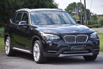 2014 BMW X1 2.0 XDRIVE20D XLINE 5d AUTO 181 BHP £11995.00