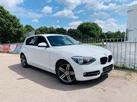 2014 BMW 1 SERIES 1.6 116I SPORT 5d 135 BHP £8950.00