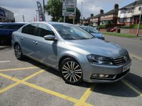 USED 2013 63 VOLKSWAGEN PASSAT 2.0 SPORT TDI BLUEMOTION TECHNOLOGY DSG 4d AUTO 139 BHP Lovely Specification & Full History