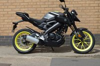 USED 2018 18 YAMAHA MT 124cc MT 125 ABS 15 BHP STUNNING LOOKING BIKE VIEWING ESSENTIAL