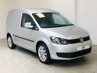 USED 2013 63 VOLKSWAGEN CADDY 1.6 C20 TDI TRENDLINE 1d 101 BHP NO VAT + IMMACULATE UPGRADED ALLOYS + FULLY COLOUR CODED