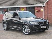 2012 BMW X3 2.0 XDRIVE20D M SPORT (£3,305 OF EXTRAS) AUTO 5dr £9990.00