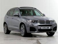 2016 BMW X3 3.0 XDRIVE30D M SPORT 5d AUTO 255 BHP [£6,450 OPTIONS] £24589.00