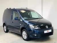 USED 2014 14 VOLKSWAGEN CADDY 1.6 C20 TDI BMT HIGHLINE 1d 101 BHP LOW MILES + NO VAT + SERVICE HISTORY + GOOD SPEC