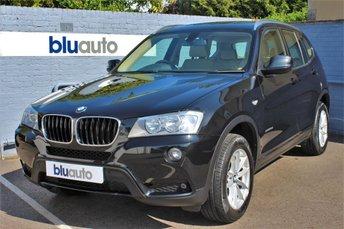 2013 BMW X3 XDRIVE 2.0D SE 5d AUTO 181 BHP £14480.00