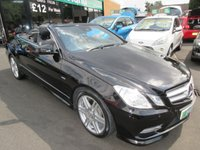 USED 2012 12 MERCEDES-BENZ E CLASS 2.1 E220 CDI BLUEEFFICIENCY SPORT 2d AUTO 170 BHP BUY NOW PAY NEXT YEAR