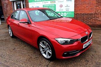 2015 BMW 3 SERIES 2.0 320D SPORT 4d AUTO 188 BHP £10299.00