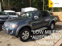 USED 2006 56 MITSUBISHI L200 2.5 ANIMAL LWB DCB 164 BHP *AUTO*LOW MILES*NO VAT*
