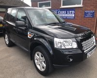 USED 2008 08 LAND ROVER FREELANDER 2.2 TD4 GS 5d 159 BHP 4X4 6 STAMPS, 91K MILES
