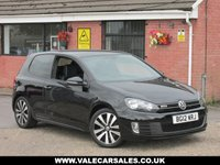 USED 2012 12 VOLKSWAGEN GOLF 2.0 GTD TDI (LEATHER) 170 BHP 3dr FULL LEATHER INTERIOR AND HEATED SEATS