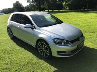 USED 2014 14 VOLKSWAGEN GOLF 1.6 S TDI BLUEMOTION TECHNOLOGY 5d 103 BHP **EXCELLENT FINANCE PACKAGES**FULL SERVICE HISTORY**FREE ROAD TAX**