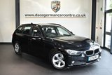 """USED 2015 15 BMW 3 SERIES 2.0 320D EFFICIENTDYNAMICS TOURING 5DR 161 BHP full service history * NO ADMIN FEES * FINISHED IN STUNNING SAPPHIRE METALLIC BLACK WITH ANTHRACITE UPHOLSTERY + FULL SERVICE HISTORY + SATELLITE NAVIGATION + BLUETOOTH + DAB RADIO + CRUISE CONTROL + AUTO AIR CON + RAIN SENSORS + PARKING SENSORS + 16"""" ALLOY WHEELS"""