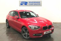 USED 2014 14 BMW 1 SERIES 2.0 120D SPORT 5d 181 BHP