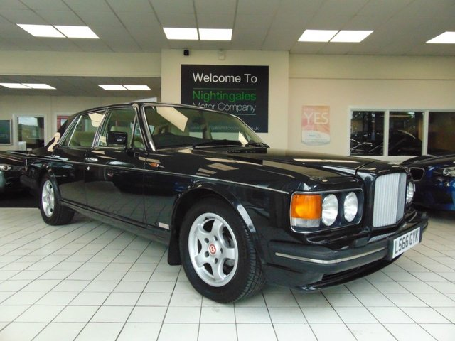 USED 1993 BENTLEY TURBO 6.8 R LWB 4d AUTO A MAGNIFICENT BENTLEY TURBO R WITH ONLY 65000 MILES - AN APPRECIATING CLASSIC