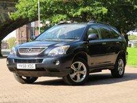USED 2008 58 LEXUS RX 3.3 400H SE CVT 5d AUTO 208 BHP