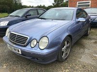 USED 2001 Y MERCEDES-BENZ CLK 3.2 CLK320 AVANTGARDE 2d 218 BHP MOT 01/20 PURPLE MET WITH BLACK LEATHER TRIM. ELECTRIC MEMORY SEATS. CRUISE CONTROL. 17 INCH ALLOYS. COLOUR CODED TRIMS. PARKING SENSORS. AIR CON. R/CD PLAYER. MOT 01/20. AGE/MILEAGE RELATED SALE. PART EXCHANGE CLEARANCE CENTRE - LS23 7FQ. TEL 01937 849492 OPTION 4