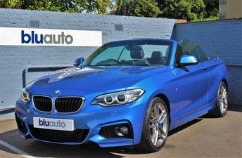 2015 BMW 2 SERIES 2.0 220D M SPORT 2d 188 BHP £15995.00
