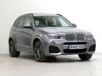 2015 BMW X3 3.0 xDrive30d M Sport PLUS 5d Auto 255 bhp [£10,585 OPTIONS] £22427.00