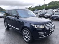 USED 2017 17 LAND ROVER RANGE ROVER 4.4 SDV8 VOGUE SE 5d AUTO 339 BHP Rear entertainment screens, opening panoramic sunroof, 21 inch alloys, deployable side steps ++