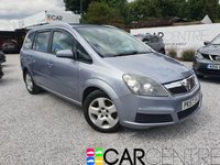 USED 2007 57 VAUXHALL ZAFIRA 1.6 ENERGY 16V 5d 105 BHP PART EX TO CLEAR - TRADE SALE