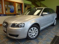 USED 2006 06 AUDI A3 1.6 SPECIAL EDITION 8V 5d 101 BHP RCL, ISOFIX, 2 KEYS IMMACULATE