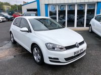 2014 VOLKSWAGEN GOLF 1.6 MATCH TDI BLUEMOTION TECHNOLOGY DSG 5d AUTO 103 BHP £7990.00